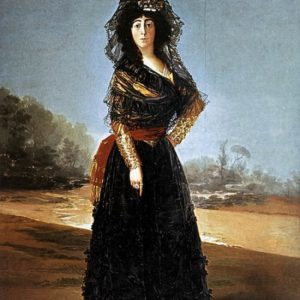 Francisco Goya : The Duchess Of Alba