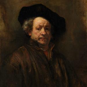 Rembrandt : Self Portrait
