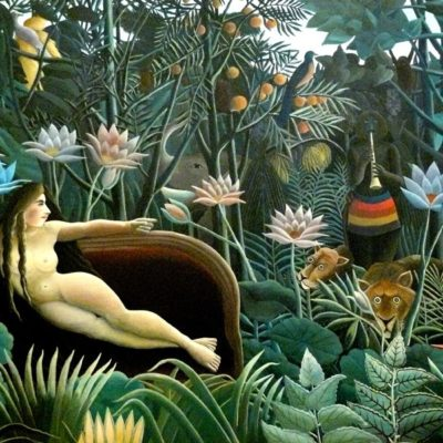 The Dream produced by Henri Rousseau