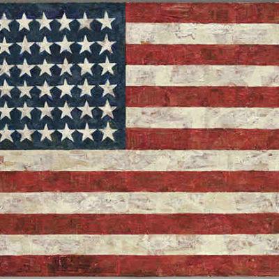 Flag by Jasper Johns